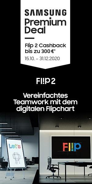 Samsung Flip2 Cashback Aktion