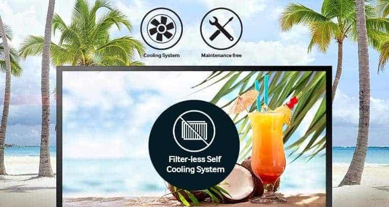 selbstkühlenden Systems ohne Filter- oder Wartungsbedarf
