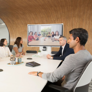 Videokonferenzen mit Logitech