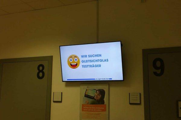 Bildschirm in Arzt Praxis
